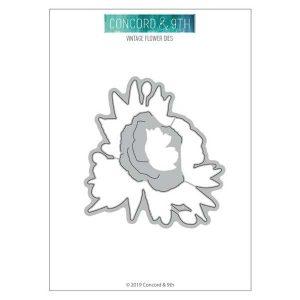 Concord & 9th Vintage Flower Dies