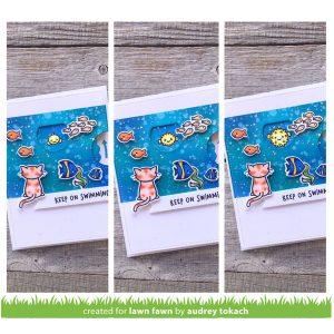 Lawn Fawn Reveal Wheel Keep On Swimming Add-on class=