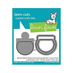 Lawn Fawn Reveal Wheel Keep On Swimming Add-on