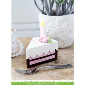 Lawn Fawn Cake Slice Box class=