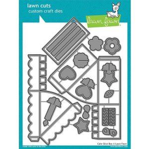 Lawn Fawn Cake Slice Box