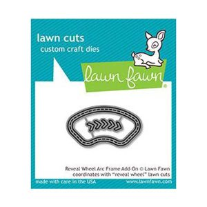 Lawn Fawn Reveal Wheel Arc Frame Add-On Lawn Cuts