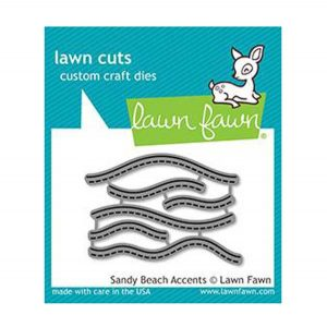 Lawn Fawn Sandy Beach Accents Lawn Cuts
