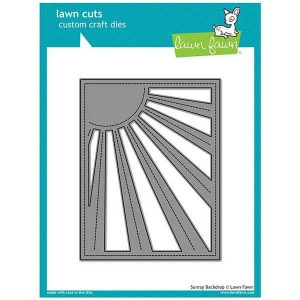 Lawn Fawn Sunray Backdrop Lawn Cuts