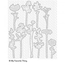 My Favorite Things Flower Silhouettes Die-namics