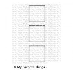 My Favorite Things Square Trio Shaker Window Die-namics
