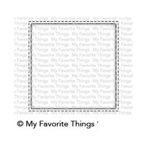 My Favorite Things Selfie Square Die-namics