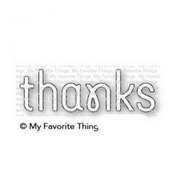 My Favorite Things Simply Thanks Die-namics
