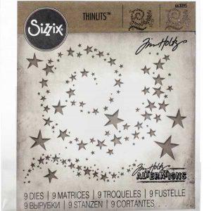 Sizzix Swirling Stars Die Set class=