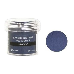 Ranger Navy Metallic Embossing Powder class=