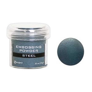 Ranger Steel Metallic Embossing Powder class=