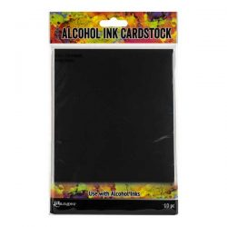 Tim Holtz Black Matte Alcohol Ink Cardstock