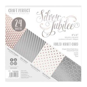 Tonic Studios Silver Jubilee Luxury Embossed Cardstock