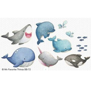 My Favorite Things BB Friends with Fins Die-namics class=