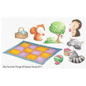 My Favorite Things Picnic Pals Stamp Set class=