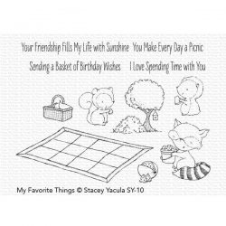 My Favorite Things Picnic Pals Stamp Set