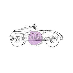 Purple Onion Designs Car Stamp