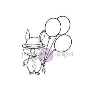 Purple Onion Designs Clown Stamp
