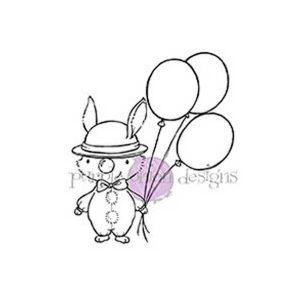 Purple Onion Designs Clown Stamp