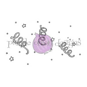 Purple Onion Designs Confetti Stamp