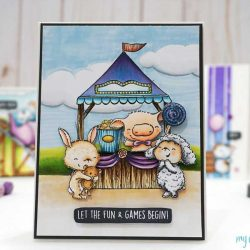 Purple Onion Designs Fair Booth Stamp