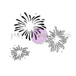 Purple Onion Designs Fireworks Stamp
