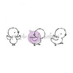 Purple Onion Designs Flo, Mo & Bo Stamp
