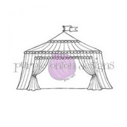 Purple Onion Designs Large Fair Tent Stamp