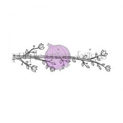 Purple Onion Designs Blossoming Perch Stamp