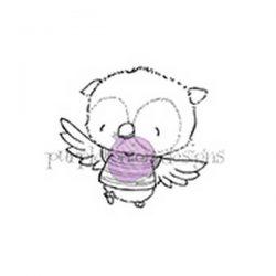 Purple Onion Designs Ruby (flying owl)