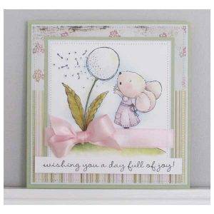 Purple Onion Designs Wishing (Mouse & Dandelion) class=