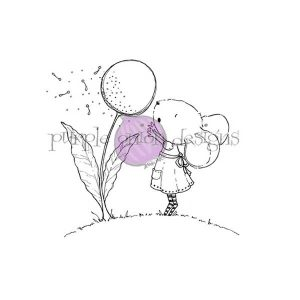 Purple Onion Designs Wishing (Mouse & Dandelion)