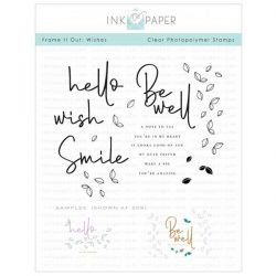 Ink To Paper Frame It Out: Wishes Stamp Set