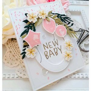 Ink To Paper Confetti & Streamers Stamp Set class=