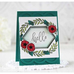 Ink To Paper Framing Florals Stamp Set class=