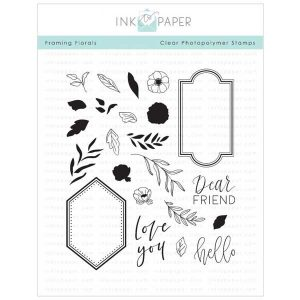 Ink To Paper Framing Florals Stamp Set