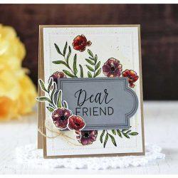 Ink To Paper Framing Florals Stamp Set