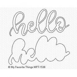 My Favorite Things Sweet Hello Die-namics