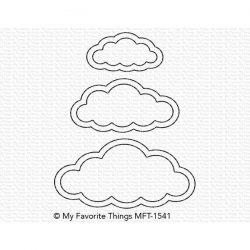 My Favorite Things Cute Cloud Outlines Die-namics