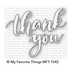 My Favorite Things Thank You Die-namics