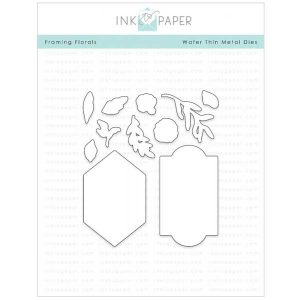 Ink To Paper Framing Florals Die Set