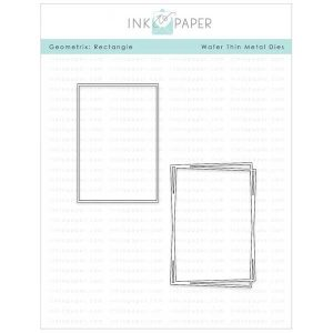Ink To Paper Geometrix: Rectangle Die