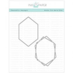 Ink To Paper Geometrix: Hexagon