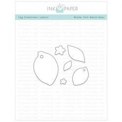 Ink To Paper Tag Creations: Lemon Dies