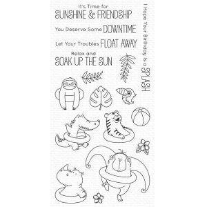 My Favorite Things BB Sunshine & Friendship Stamp Set