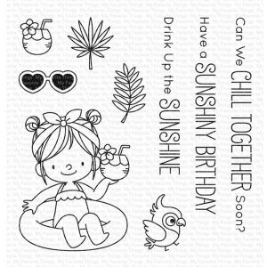 My Favorite Things BB Drink Up The Sunshine Stamp Set
