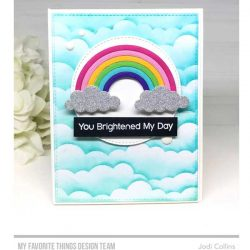 My Favorite Things Rainbow Greetings Stamp Set