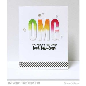 My Favorite Things Sassy Pants Birthday Greetings 2 Stamp Set class=