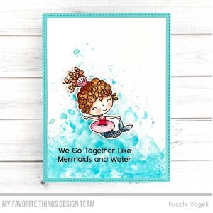 My Favorite Things Mermaid For Each Other Stamp Set class=