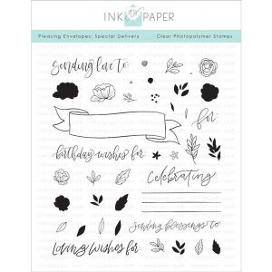 Ink To Paper Pleasing Envelopes: Special Delivery Stamp Set